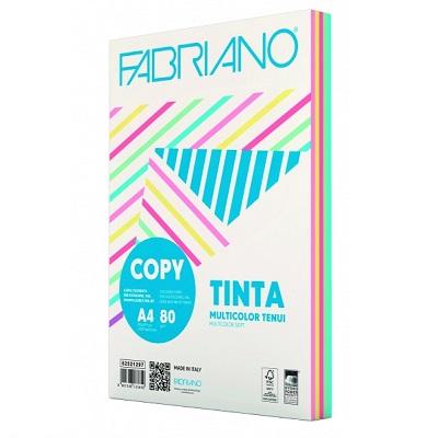 Χαρτί Α4 Fabriano Multicolor 80gr. απαλά χρώματα