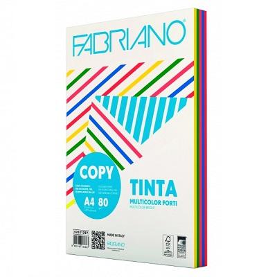 Χαρτί Α4 Fabriano Multicolor 80gr. έντονα χρώματα