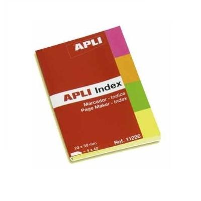 Αυτοκόλλητοι σελιδοδείκτες Apli