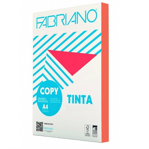 Χαρτί A4 Fabriano Arancio 80gr.