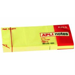Αυτοκόλλητα χαρτάκια Apli 38x51mm