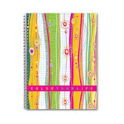 Τετράδιο σπιράλ Color 17x25 4 θέματα