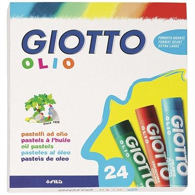 Λαδοπαστέλ Giotto Olio 24τεμ.