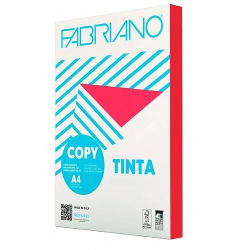Χαρτί A4 Fabriano Rosso 80gr.