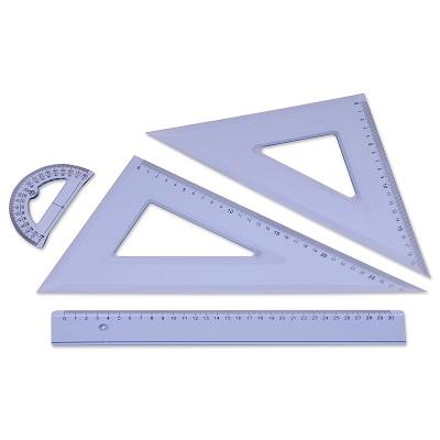 Γεωμετρικό σετ Rainbow 30cm.