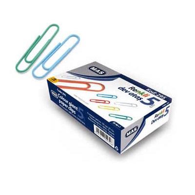 Συνδετήρες Mas χρωματιστοί Νο5