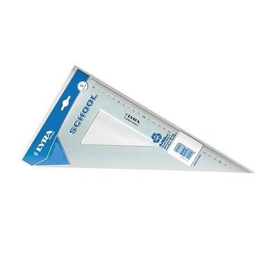 Τρίγωνο πλαστικό Fila 60° 26cm