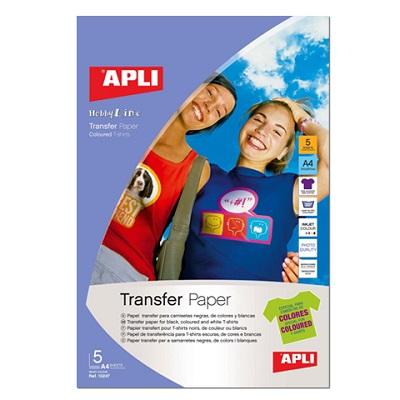 Σιδερότυπο Apli Photo Quality A4 5φ.