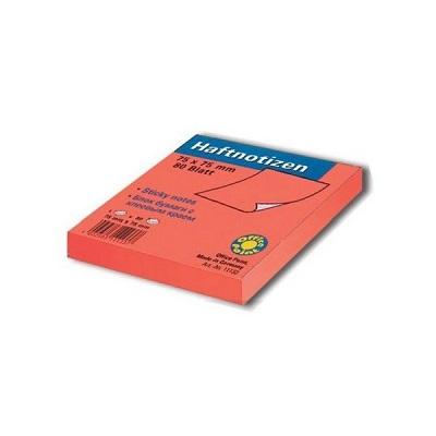 Αυτοκόλλητα χαρτάκια Officepoint 75x75mm πορτοκαλί