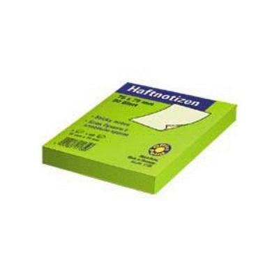 Αυτοκόλλητα χαρτάκια Officepoint 75x75mm πράσινα
