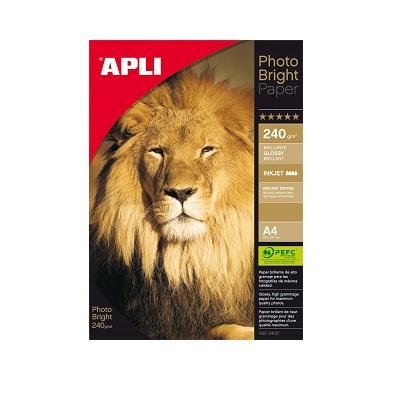 Apli Photo Bright Paper 210x297 240gr. 20φ.