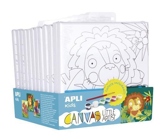 Apli Kids Canvas Little Artist 15x15 4+