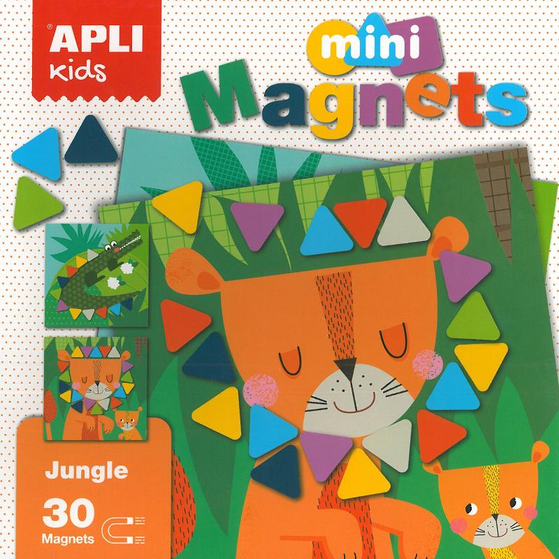 Apli Kids Mini Magnets 30pcs 3+
