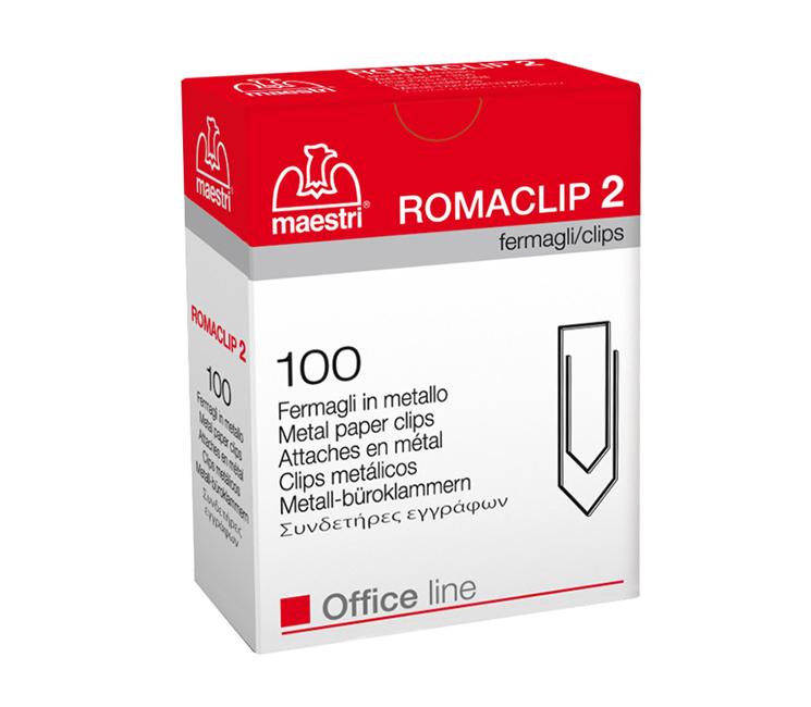 Συνδετήρες Roma Clip No2 25mm