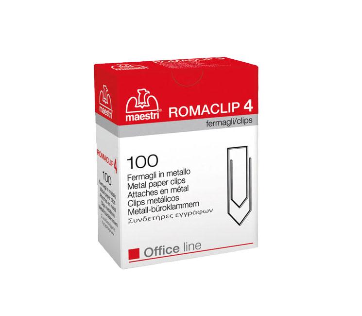 Συνδετήρες Roma Clip No4 33mm