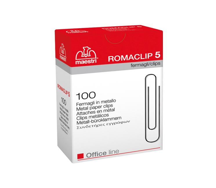 Συνδετήρες Roma Clip No5 50mm