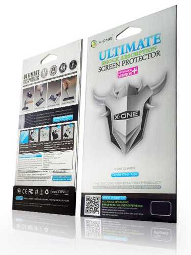SAMSUNG A510 - SCREEN PROTECTOR CURVED X-ONE SHOCK ABSORTION 2