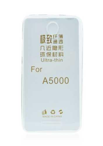 LENOVO A5000 - ΘΗΚΗ ΣΙΛΙΚΟΝΗΣ ULTRA SLIM 0