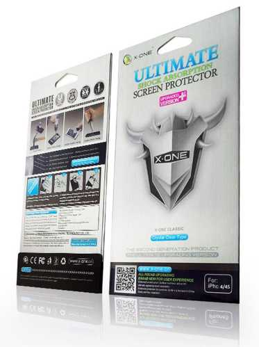 LENOVO A536 - SCREEN PROTECTOR X-ONE SHOCK ABSORTION 2