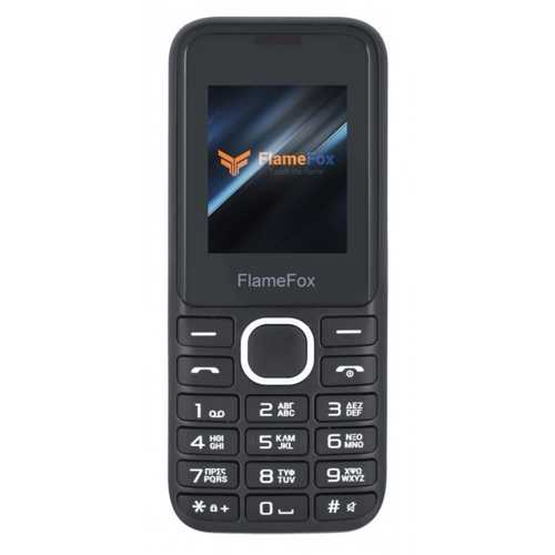 FLAMEFOX EASY 3 DUAL SIM BLACK