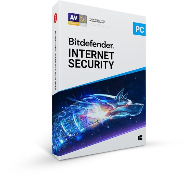 BITDEFENDER INTERNET SECURITY 1PC 1 Mobile Security 1 Year