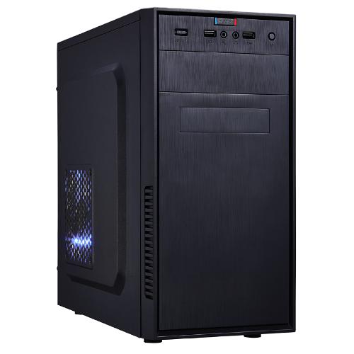 CASE MICRO M-ATX/M-ITX BLACK FRONT_U2/MIC/SPK/HD-A