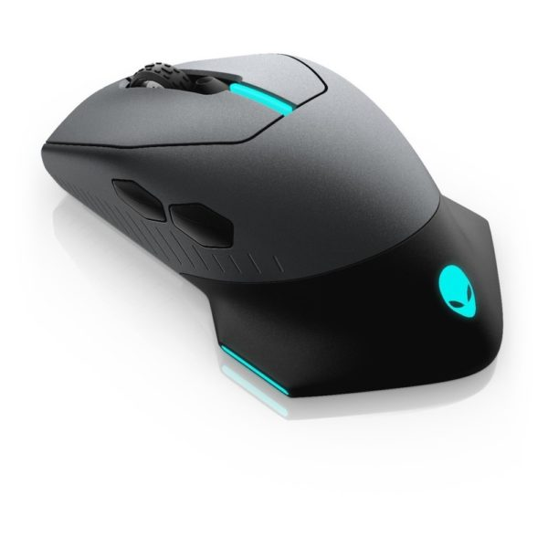 DELL Alienware Wired/Wireless Gaming Mouse - AW610M - Dark Side of the Moon