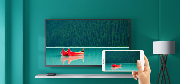 With build-in Chromecast