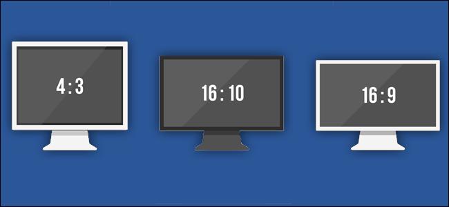 Οθόνη υπολογιστή - Αναλογία Διάστασης