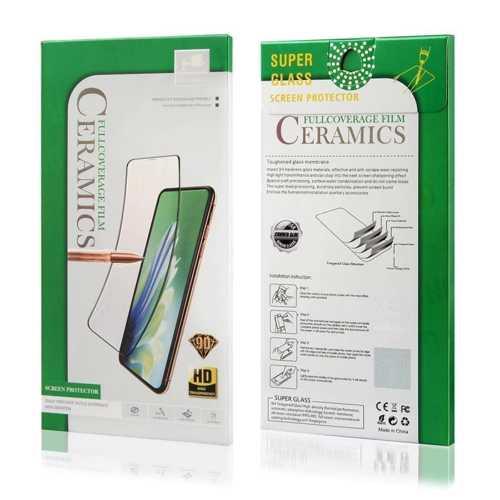 SAMSUNG N970 - Screen Protector HD Ceramic 9D ΜΑΥΡΟ FULL GLUE